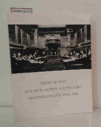 Buehl, Adolf  Buehl, Adolf Aus der alten Ratsstube