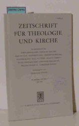 Jüngel, Eberhard  Jüngel, Eberhard Zeitschrift für Theologie und Kirche. 84. Jahrgang. Heft 3 - 1987
