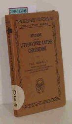 Paul Monceaux  Paul Monceaux Histoire de la litterature latine chretienne