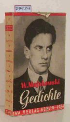 Majakovskij, Vladimir V.  Majakovskij, Vladimir V. Wladimir Majakowski