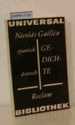 Guillén, Nicolás  Guillén, Nicolás Gedichte