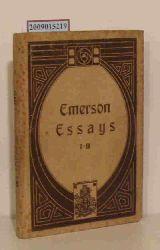 Emerson, Ralph Waldo  Emerson, Ralph Waldo Essays