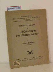 "Meerkatz, Albert  Meerkatz, Albert ""Erläuterungen zu """"Götterlieder der älteren Edda"""""""