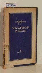 Grimme, Adolf  Grimme, Adolf Vom Wesen der Romantik