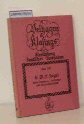 Hegel, Georg Wilhelm Friedrich  Hegel, Georg Wilhelm Friedrich G. W. F. Hegel