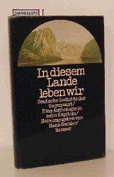Bender, Hans [Hrsg.]  Bender, Hans [Hrsg.] In diesem Lande leben wir