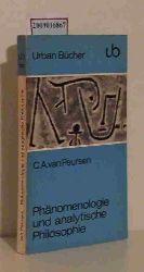 Peursen, Cornelis Anthonie van  Peursen, Cornelis Anthonie van Phänomenologie und analytische Philosophie