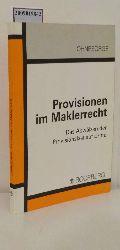 Ohnesorge, Randolf  Ohnesorge, Randolf Provisionen im Maklerrecht