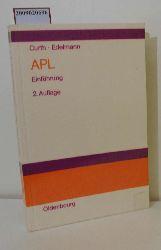 """""""Curth, Michael A.; Edelmann, Helmut """"  """"Curth, Michael A.; Edelmann, Helmut """" APL"""