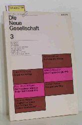 Willy Brandt, Otto Brenner...  Willy Brandt, Otto Brenner... Die neue Gesellschaft 3. Zeitschrift. 1971 März, 18. Jahrgang