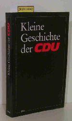 Becker, Felix [Red.]  Becker, Felix [Red.] Kleine Geschichte der CDU