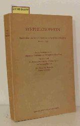 Dr. Helmuth Plessner Hrsg.  Dr. Helmuth Plessner Hrsg. Symphilosophein