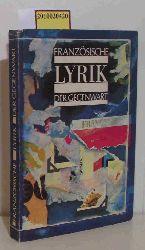 Dobzynski, Charles [Hrsg.]  Dobzynski, Charles [Hrsg.] Französische Lyrik der Gegenwart