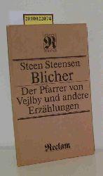 Blicher, Steen Steensen  Blicher, Steen Steensen Der  Pfarrer von Vejlby und andere Erzählungen