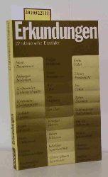 Kress, Bruno (Hrsg.)  Kress, Bruno (Hrsg.) Erkundungen -  27 isländische Erzähler