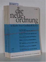 Hrsg: Albertus-Magnus-Akademie zu Walberberg bei Bonn  Hrsg: Albertus-Magnus-Akademie zu Walberberg bei Bonn DIE NEUE ORDNUNG in Kirche, Staat, Gesellschaft, Kultur. - kompletter Jahrgang 1977 (Jahrgang 31)