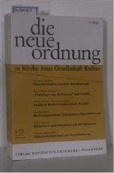 Hrsg: Albertus-Magnus-Akademie zu Walberberg bei Bonn  Hrsg: Albertus-Magnus-Akademie zu Walberberg bei Bonn DIE NEUE ORDNUNG in Kirche, Staat, Gesellschaft, Kultur. - kompletter Jahrgang 1973 (Jahrgang 27)