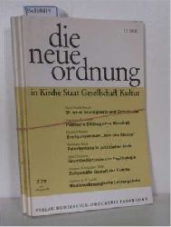 Hrsg: Albertus-Magnus-Akademie zu Walberberg bei Bonn  Hrsg: Albertus-Magnus-Akademie zu Walberberg bei Bonn DIE NEUE ORDNUNG in Kirche, Staat, Gesellschaft, Kultur. - Jahrgang 1979 (Jahrgang 33)