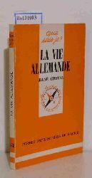 Cheval, Rene  Cheval, Rene La Vie Allemande (que sais-je ? No. 1581)