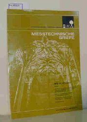 Hottinger Baldwin Messtechnik GmbH  Hottinger Baldwin Messtechnik GmbH Messtechnische Briefe für Elektrisches Messen Mechanischer Grössen, MTB 13 (1977), Heft 3 (u.a.: Die Kirchenverschiebung von Most)