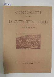 Alessi, Biagio  Alessi, Biagio Girgenti nella collana Le Cento Citta D