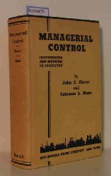 """""""Glover, John G.; Maze, Coleman L.""""  """"Glover, John G.; Maze, Coleman L."""" Managerial Control. Instruments and Methods in Industry."""