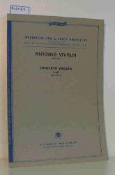 Vivaldi, Antonio  Vivaldi, Antonio Werkreihe für kleines Orchester herausgegeben von Prof. Dr. Heinrich Lemacher und Prof. Dr. Paul Mies. Antonio Vivaldi: Concerto Grosso d-moll Op.3, Nr. 11