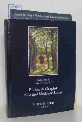 Peter Kiefer  Peter Kiefer Auktion 30 / 4. und 5. Oktober 1996 Bücher & Graphik. Alte und moderne Kunst
