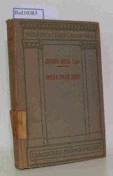 Della Casa, Giovanni  Della Casa, Giovanni Prose e Poesie Scelte. Di Monsignor Giovanni Della Casa con Prefazione. Volume Unico.
