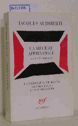 Audiberti, Jacques  Audiberti, Jacques La megere apprivoisee. Comedie en trois actes.