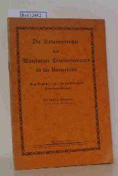 Dr. theol. Brander  Dr. theol. Brander Die Dotationsrechte des Würzburger Priesterseminars an die Universität. Eine Denkschrift über die Aufwertung der Dotationsleistungen.