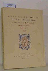 Las Relecciones De Indis y De Iure Belli de Fray Francisco de Vitoria