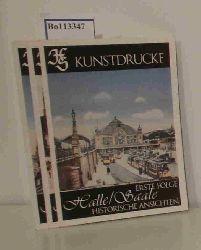 Hildebrand, Siegfried   Hildebrand, Siegfried  Kunstdrucke: Halle/Saale - Historische Ansichten 1. bis 3. Folge
