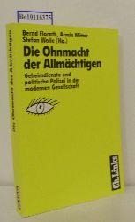 Florath, Bernd [Hrsg.]  Florath, Bernd [Hrsg.] Die  Ohnmacht der Allmächtigen