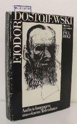 Dostoevskij, Fëdor Michajlovic  Dostoevskij, Fëdor Michajlovic Aufzeichnungen aus einem Totenhaus