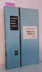 Wernet, Wilhelm  Wernet, Wilhelm Handwerk im Wettbewerb. (= Forschungsberichte aus dem Handwerk. Band 15).