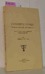 Constitutiones fratrum minorum capuccinorum. Una cum regula et testamento sancti francisci. Issu Definitorii generalis editae.