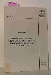 Roloff, Juliane  Roloff, Juliane Zur Einkommenssituation in den Familien und ihr Einfluß auf das generative Verhalten in der ehemaligen DDR. (Graue Reihe Nr. 604).