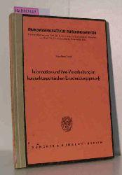 Jacobi, Klaus-Peter  Jacobi, Klaus-Peter Information und ihre Verarbeitung im konjunkturpolitischen Entscheidungsprozeß. [Dissertation. Universität Köln, 1975].
