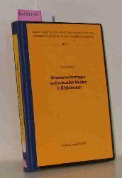Peters, Klaus  Peters, Klaus Urheberrechtsfragen audiovisueller Medien in Bibliotheken.