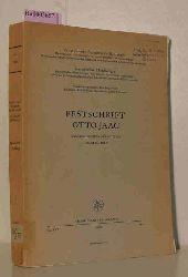 Festschrift Otto Jaag. Zum 60. Geburtstag am 29. April 1960. (Schweizerische Zeitschrift für Hydrologie. Vol. XXII)