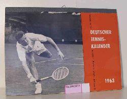 Deutscher Tenniskalender 1963.