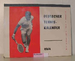 Deutscher Tenniskalender 1964.