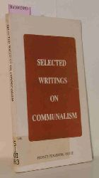 Thapar, Romila et al.  Thapar, Romila et al. Selected Writings on Communalism.