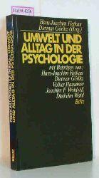 Fietkau, Hans-Joachim/ Görlitz, Dietmar (Hg.)  Fietkau, Hans-Joachim/ Görlitz, Dietmar (Hg.) Umwelt und Alltag in der Psychologie.