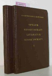 Kompendien-Katalog Sprachwissenschaft, Literaturwissenschaft. 2 Bände.