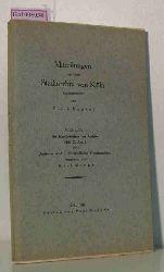 Deutsche und niederländische Handschriften. ( = Mitteilungen aus dem Stadtarchiv von Köln. Die Handschriften des Archivs, Heft X/ Abt.1- Teil 1) .