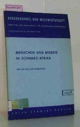 Charbonneau, Jean / Charbonneau, Rene  Charbonneau, Jean / Charbonneau, Rene Menschen und Märkte in Schwarz-Afrika.