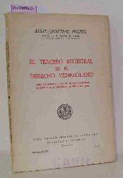 Cristobal Montes, Angel  Cristobal Montes, Angel El tercero registral en el derecho venezolano. (Obra galardonada con el premio ministerio de justicia de la Republica de Venezuela, 1966).