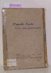 Wertvolle Spiele für die Schul- und Jugendbühne. Herbst 1952.
